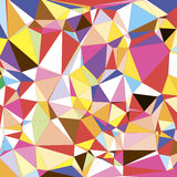Abstract colorful Triangle polygonal Geometrical. Background, Vector Illustration EPS10. Geometric design for business presentations., site templates, leaflet Royalty Free Stock Image