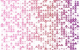 Abstract colorful triangles pattern background on white. Beautiful shape tile background stock illustration