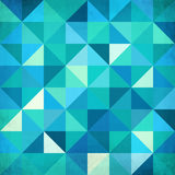 Abstract colorful triangles vector background Stock Images