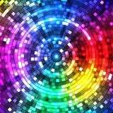 Abstract Colorful Tunnel. Background. Vector. Abstract Colorful circles Tunnel. Background. Vector illustration Royalty Free Stock Photo