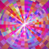 Abstract Colorful Tunnel. Vector Stock Photography