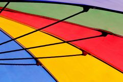 Abstract Colorful Umbrella Royalty Free Stock Photos