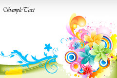 Abstract colorful vector background. Illustration of abstract colorful vector background Royalty Free Stock Photo