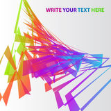 Abstract Colorful Vector Background Royalty Free Stock Photo