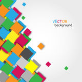 Abstract colorful vector background. Vector abstract background with colorful blocks vector illustration