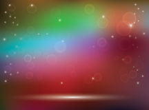 Abstract colorful vector background with bokeh Stock Images