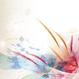 Abstract colorful vector background Stock Image