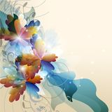 Abstract colorful vector background Stock Photo