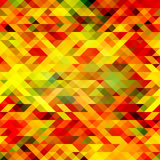 Abstract colorful vector background. Yellow, red, green, black color Stock Images