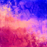 Abstract colorful vintage distressed background Royalty Free Stock Images