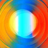 Abstract colorful vortex text holder Royalty Free Stock Photography