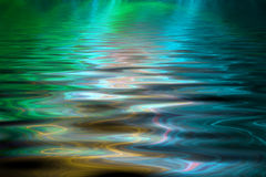 Abstract colorful water background Royalty Free Stock Photography