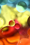 Abstract colorful water background Stock Photos