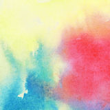 Abstract colorful watercolor background Royalty Free Stock Image