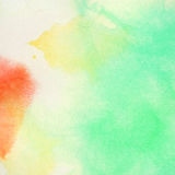Abstract colorful watercolor background. Abstract bright colorful watercolor background Stock Images