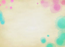 Abstract colorful watercolor background. Digital art painting Stock Images