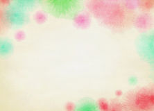 Abstract colorful watercolor background. Digital art painting Royalty Free Stock Photos