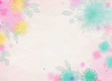 Abstract colorful watercolor background. Digital art painting Stock Image