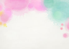 Abstract colorful watercolor background. Digital art painting Royalty Free Stock Images
