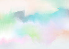 Abstract colorful watercolor background. Digital art painting Stock Photos