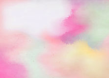 abstract colorful watercolor for background digital art painting