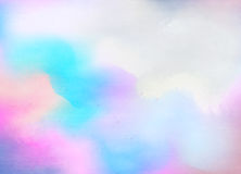 abstract colorful watercolor background digital art painting stock