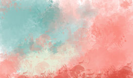 Abstract colorful watercolor background. Abstract colorful  watercolor for background. Digital art painting Royalty Free Stock Photos