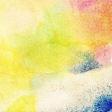 Abstract colorful watercolor background. Royalty Free Stock Photo
