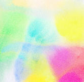 Abstract colorful watercolor background Royalty Free Stock Images