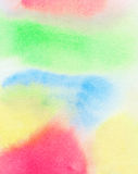 Abstract colorful watercolor background Royalty Free Stock Photo
