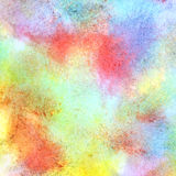 Abstract colorful watercolor background. With paper texture Royalty Free Illustration