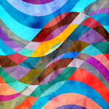 Abstract colorful watercolor background Stock Photos