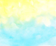 Abstract colorful watercolor background. Royalty Free Stock Image