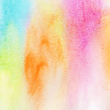 Abstract colorful watercolor background Stock Photo