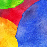 Abstract colorful watercolor background. Vector watercolor illustration Stock Photos