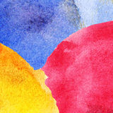 Abstract colorful watercolor background. Vector watercolor illustration Royalty Free Stock Image