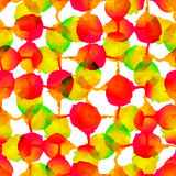 Abstract colorful watercolor seamless pattern Stock Images