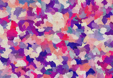 Abstract colorful watercolor textile Stock Photo