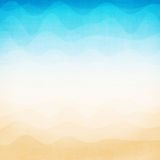 Abstract colorful wave background Stock Image