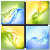 Abstract colorful wave background Royalty Free Stock Photography