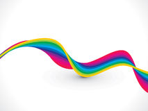Abstract colorful wave background Royalty Free Stock Photo