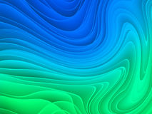 Abstract colorful wave pattern Stock Photos
