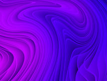 Abstract colorful wave pattern Royalty Free Stock Photos