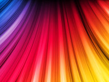 Abstract Colorful Waves Stock Photography