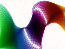 Abstract colorful waves royalty free stock photo