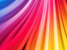 Abstract Colorful Waves Background Stock Photos