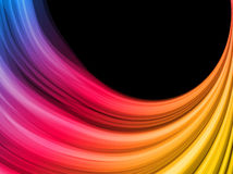 Abstract Colorful Waves Background Royalty Free Stock Image