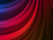Abstract Colorful Waves Background Stock Image