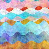 Abstract colorful wavy background Royalty Free Stock Photo
