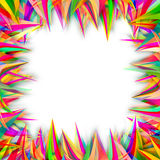 Abstract colorful wavy lines background Royalty Free Stock Photo
